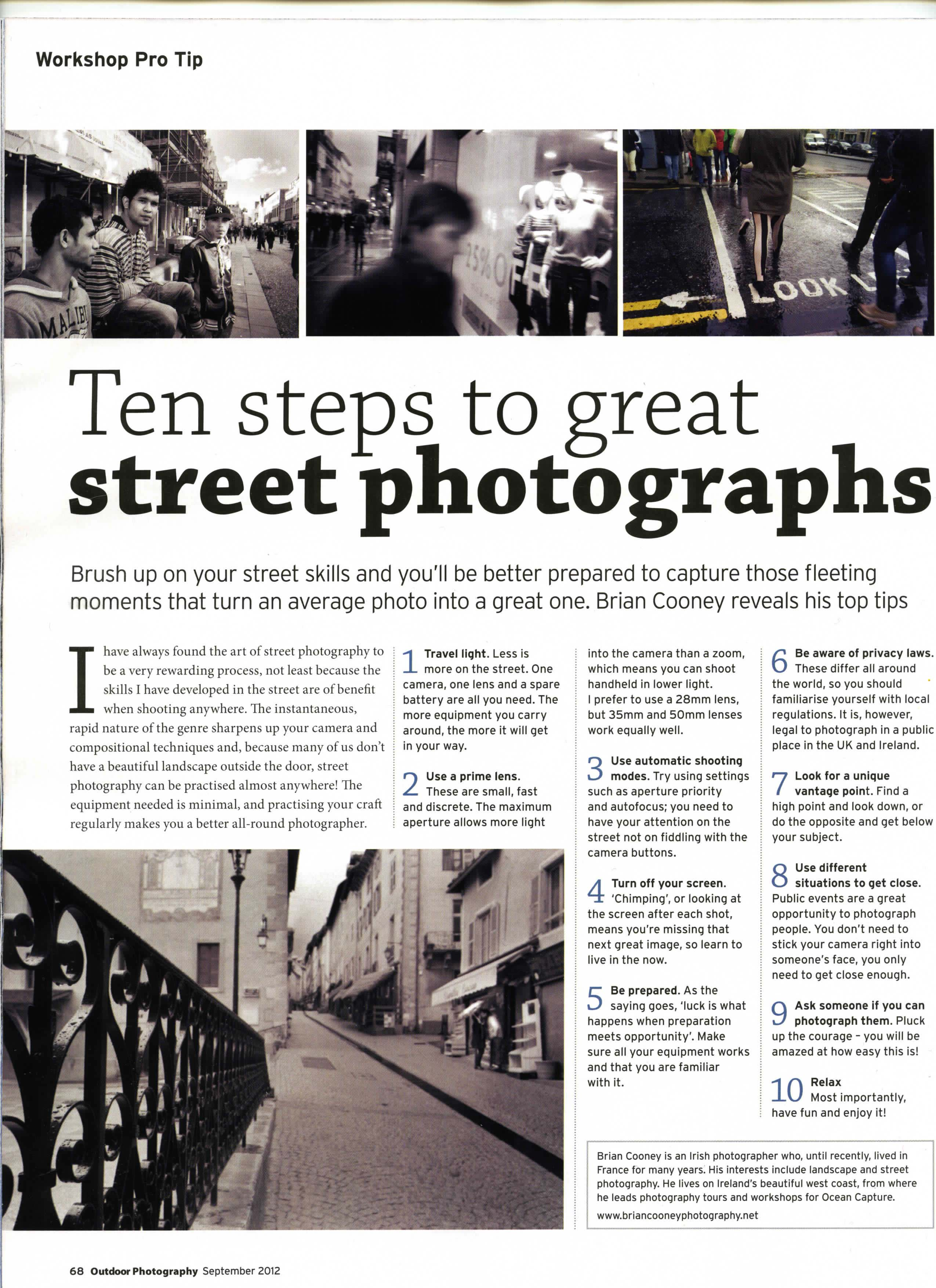 news article content concerning photography
